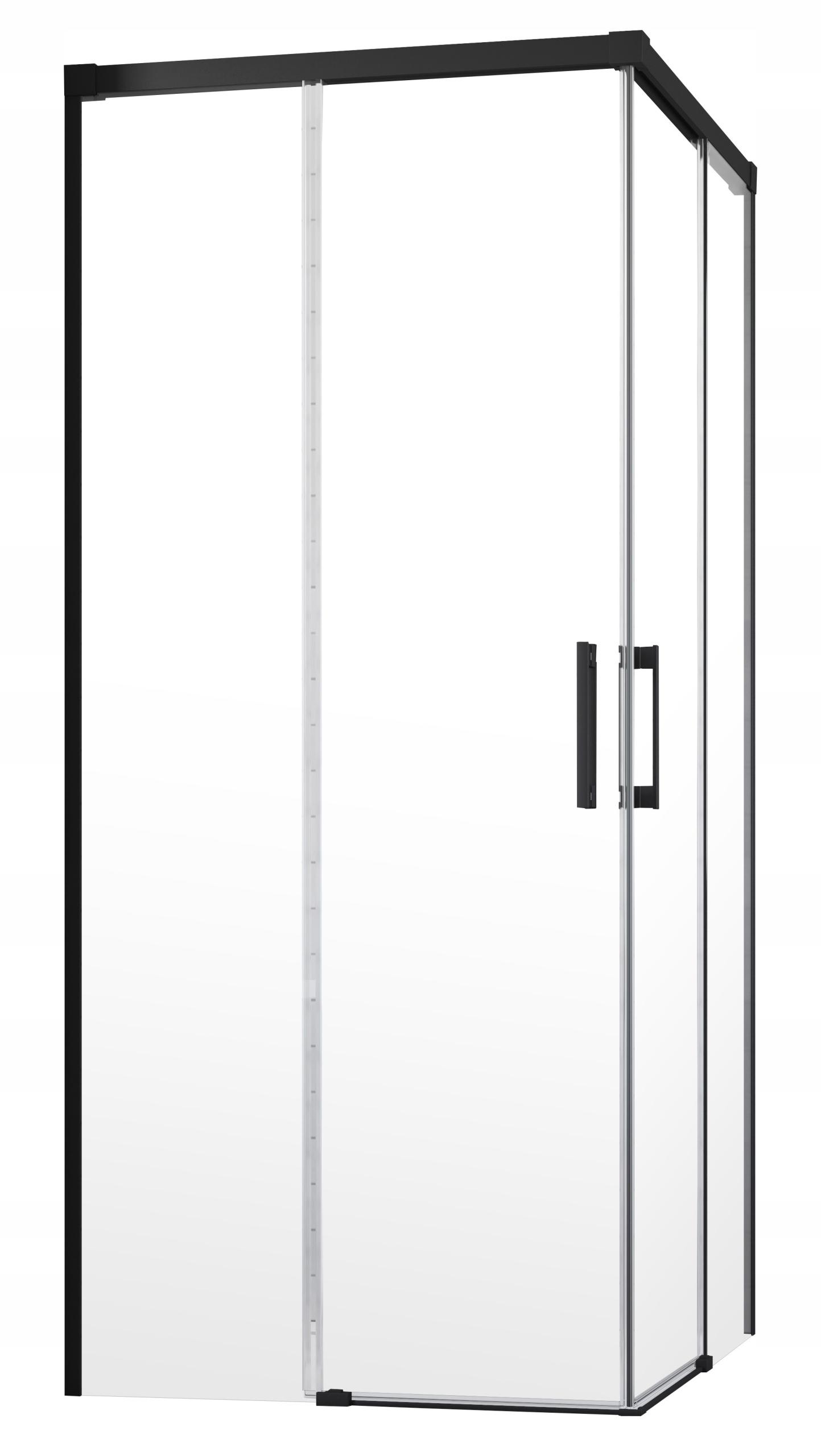 Kabína Idea Black KDD 120x120x200,5 RADAWAY