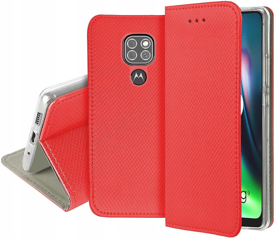 Etui do Motorola Moto G9 Play Case Magnet + Szkło