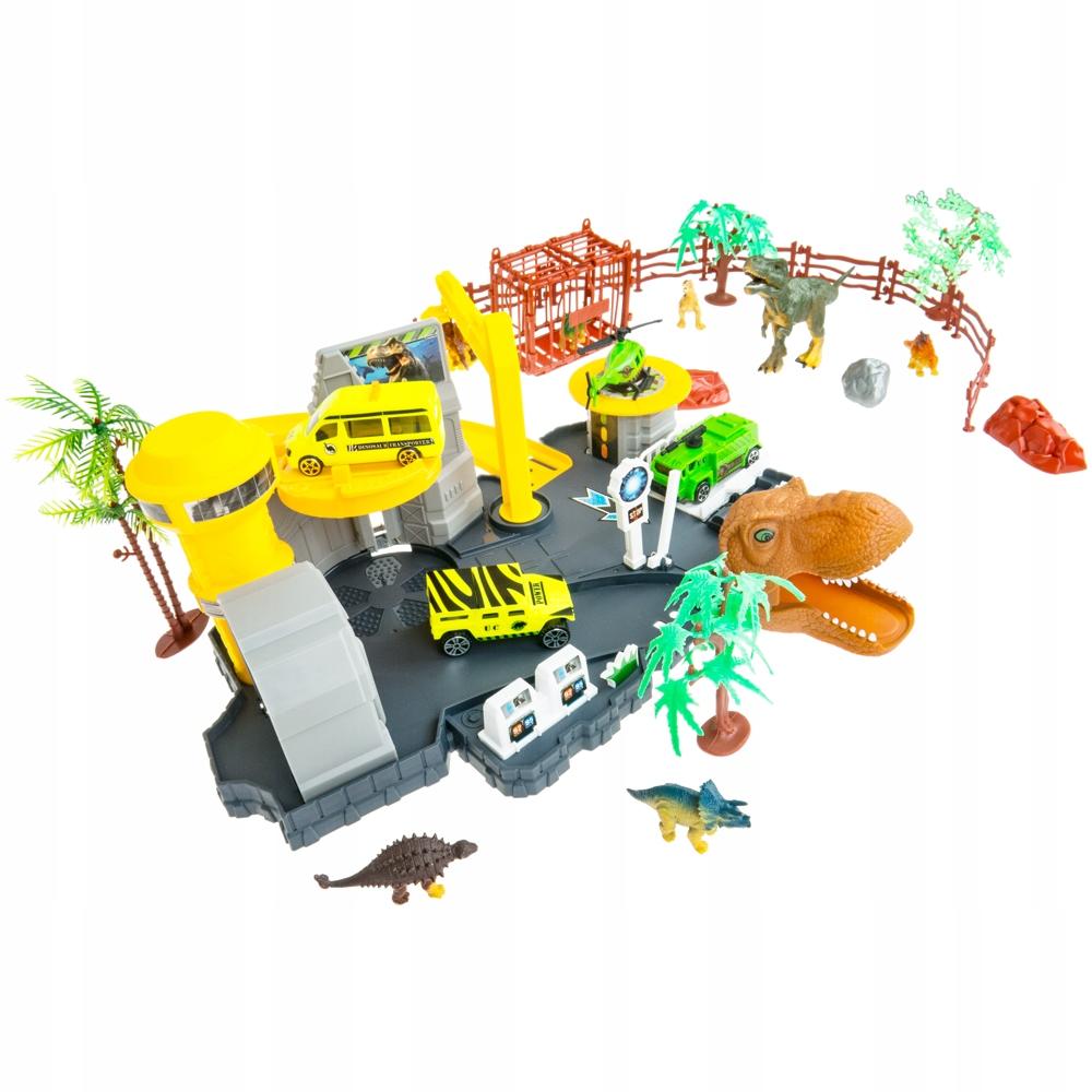 Výskumná stanica dinosaurov - dráha Jurského parku
