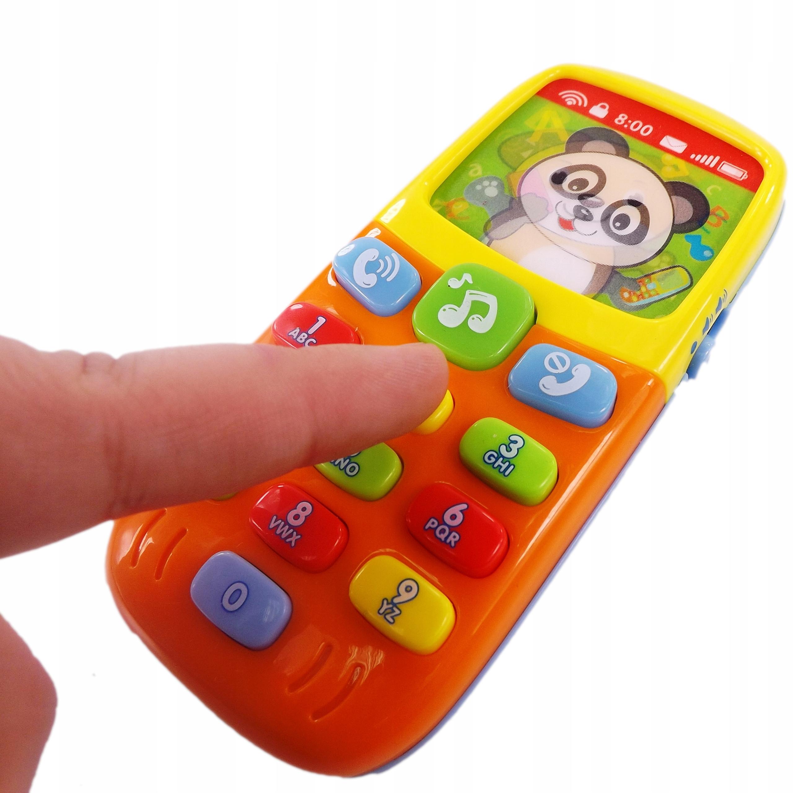Telefon interaktywny 3D światła i dźwięki 956 Szerokość produktu 6.5 cm