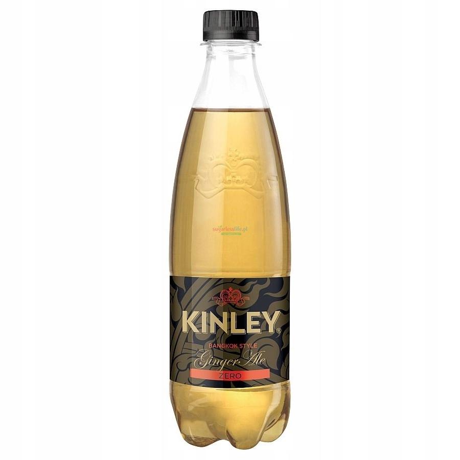 Kinley Ginger Ale Zero 12x500 мл БЕЗ САХАРА