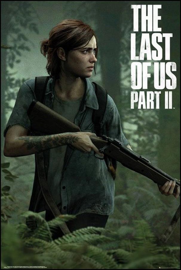 Купить The Last of Us 2 Элли - плакат 61x91,5 см на Otpravka - цены и фото - доставка из Польши и стран Европы в Украину.