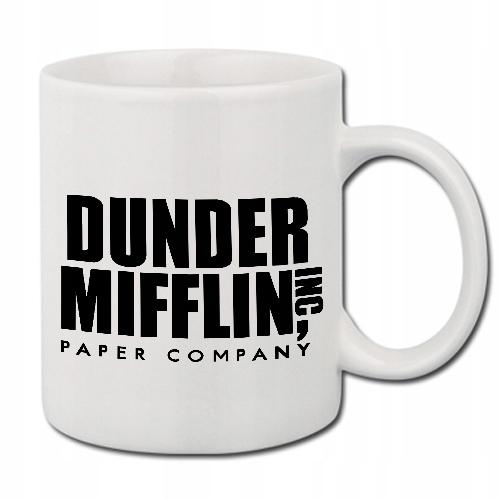 Белая кружка Gift The Office DUNDER MIFFLIN 01