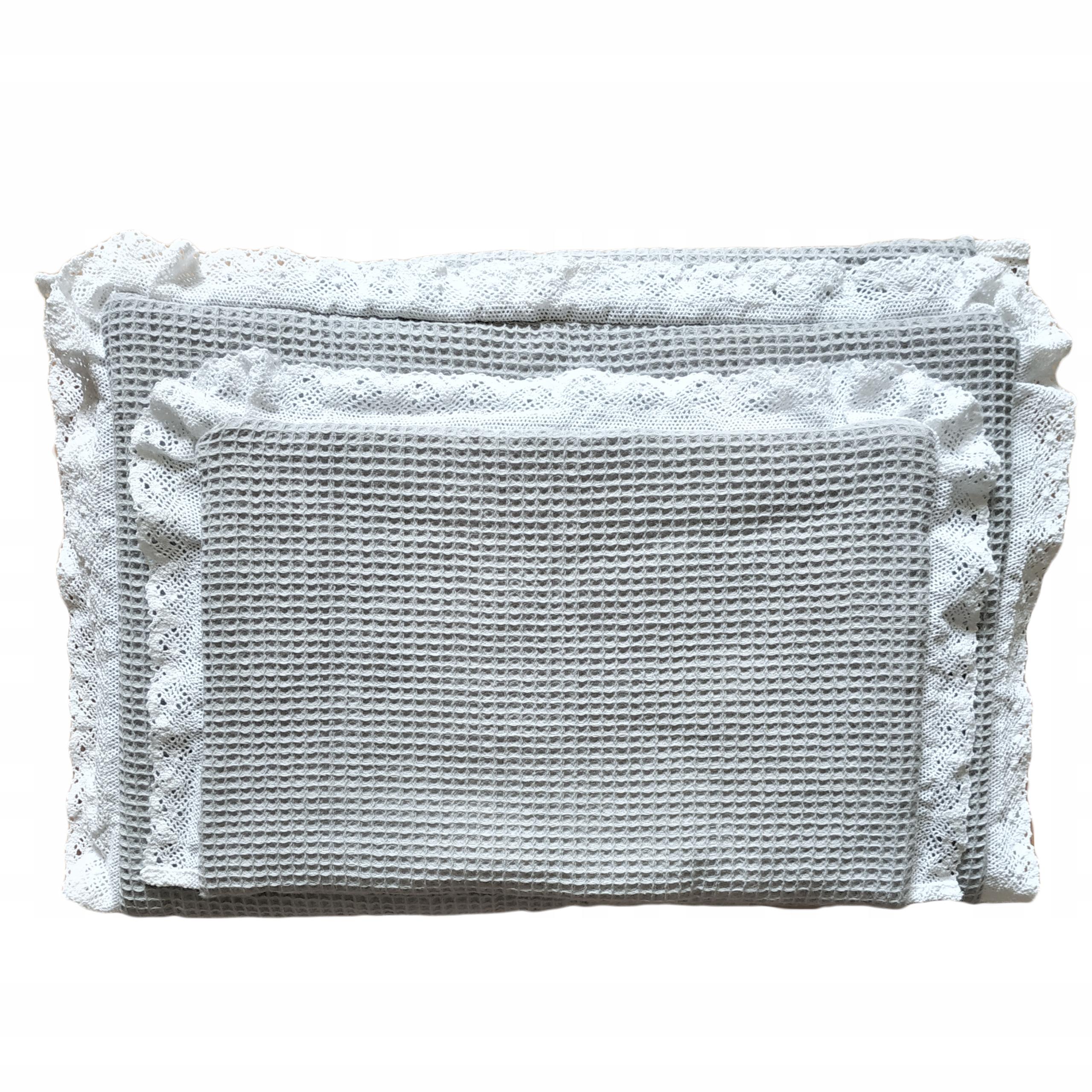 100% bavlnená vaflová podstielka pre kočík