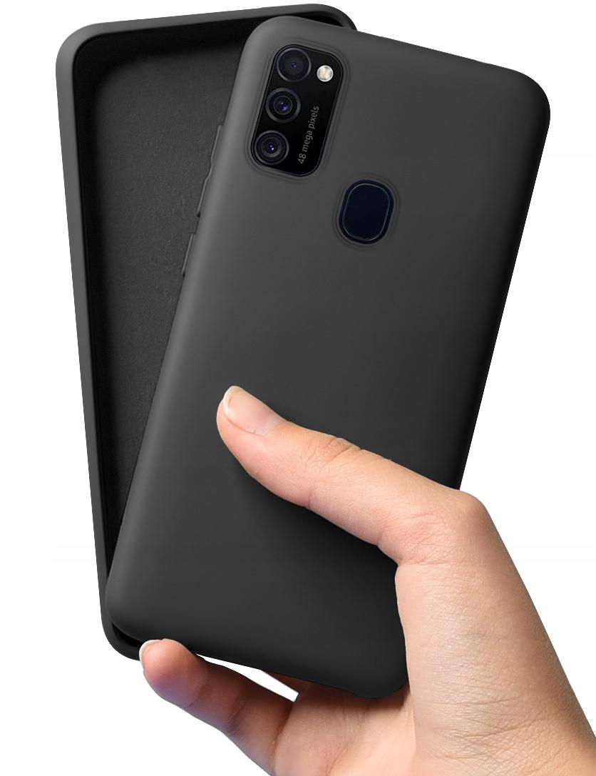 Etui do Samsung Galaxy M21 Case Silikon + Szkło 9H Kod producenta C188A