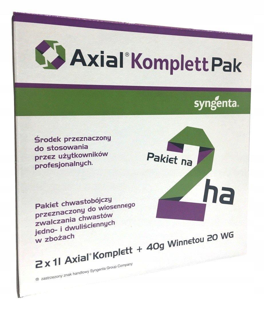 AXIAL KOMPLETT PAK на 2 га для сорняков