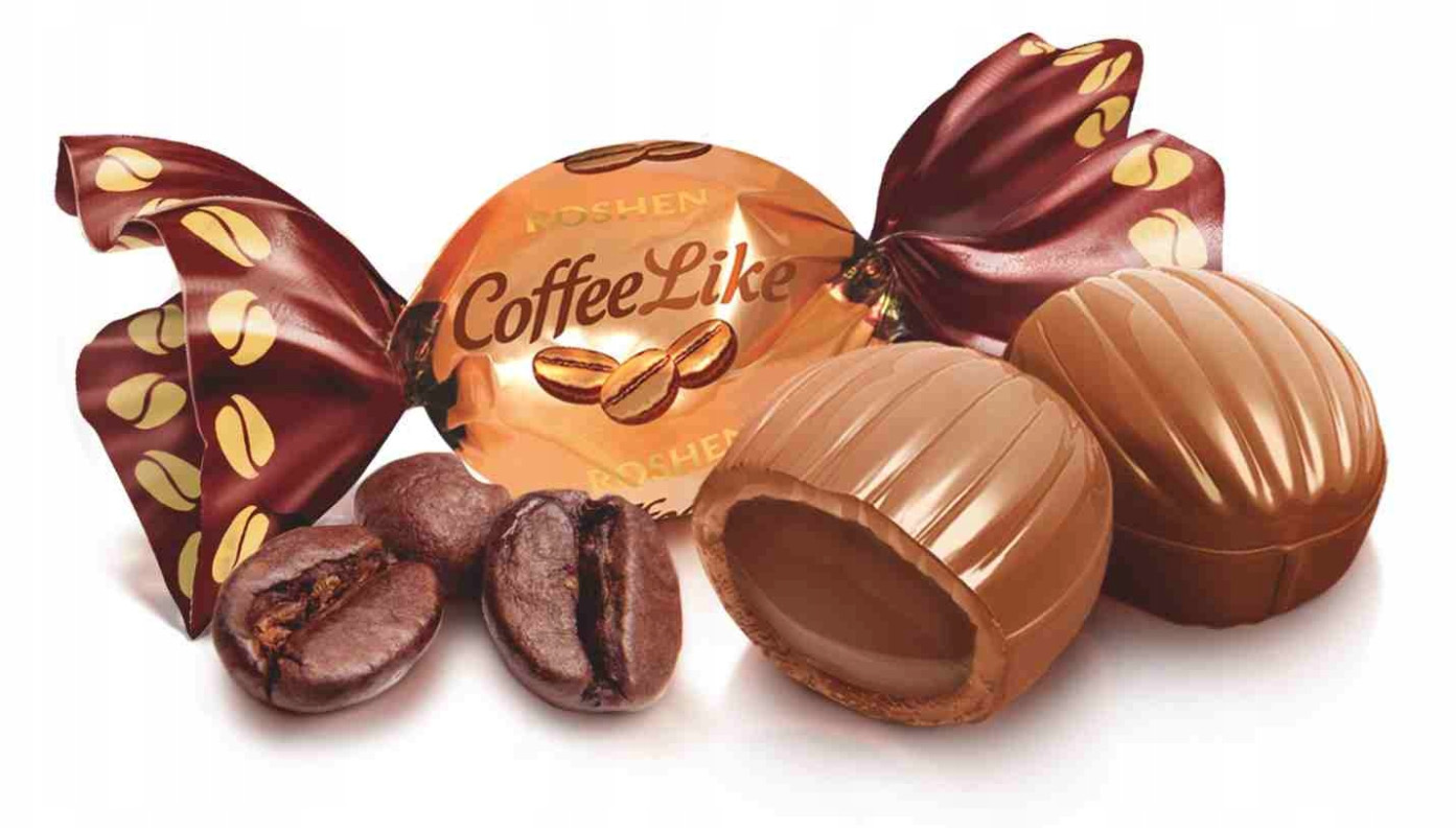 Roshen Coffee Like sweets кофе 1 кг 140 шт.