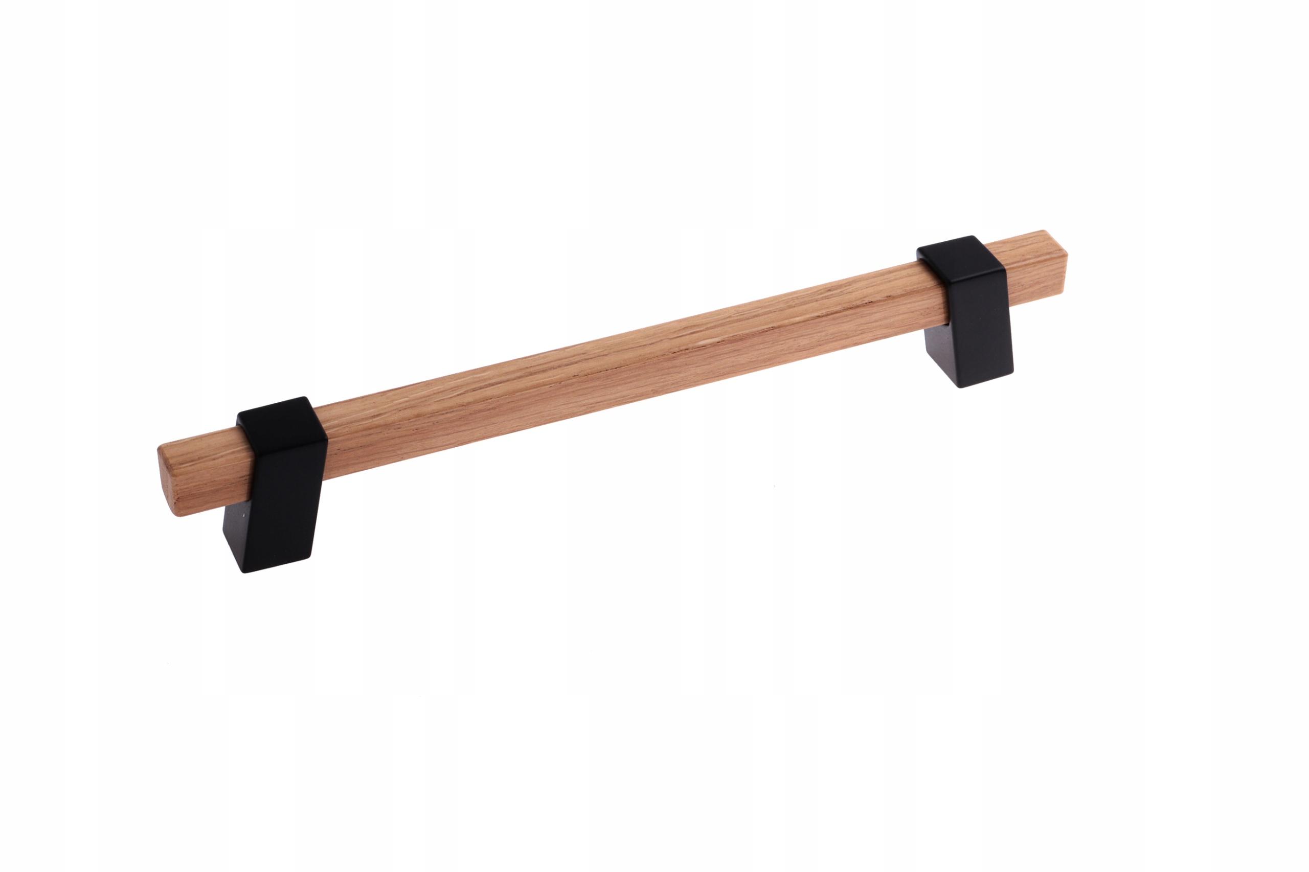 SCHWINN 2Z324 ручка мебельная деревянная 192 ЧЕРНАЯ