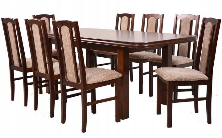 klasyczny ZESTAW stół i8 krzeseł do salonu OD RĘKI
