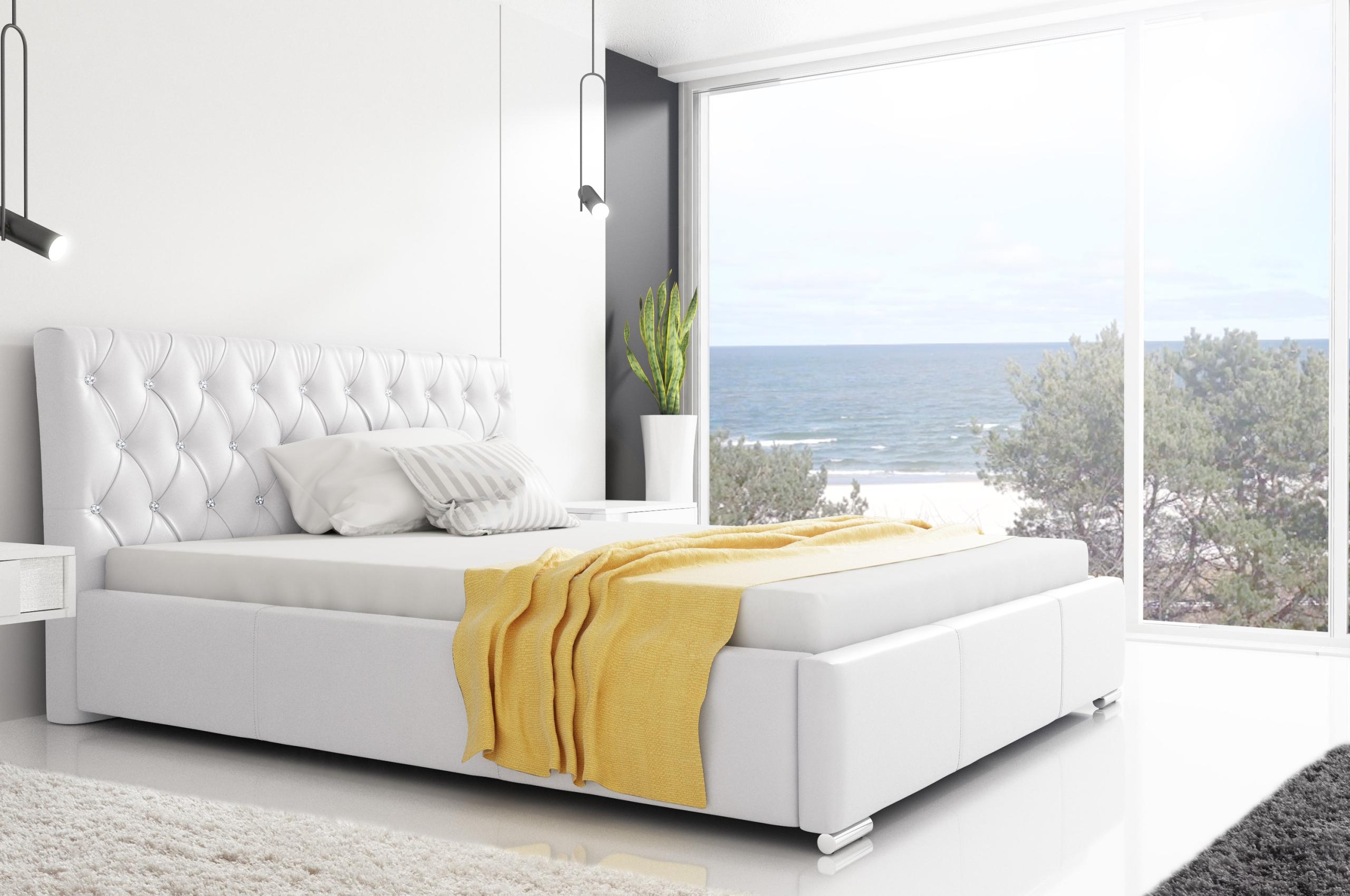 ČALÚNENÉ RETRO postele 200x200