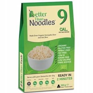 KONJAC Noodles Ekologiczn Pasta 385g Всего 9 ккал
