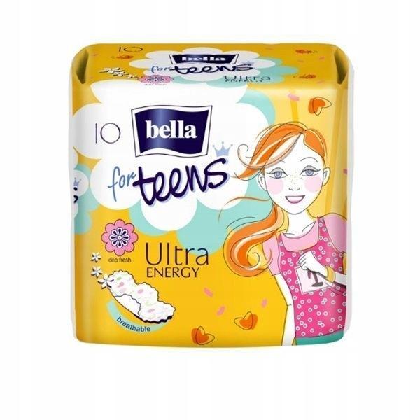 Bella For Teens Energy гигиенические Прокладки 10 шт