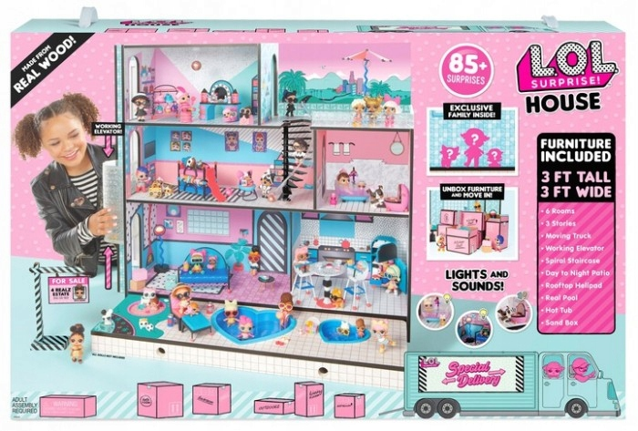 LOL Surprise Obrovský drevený domček pre bábiky