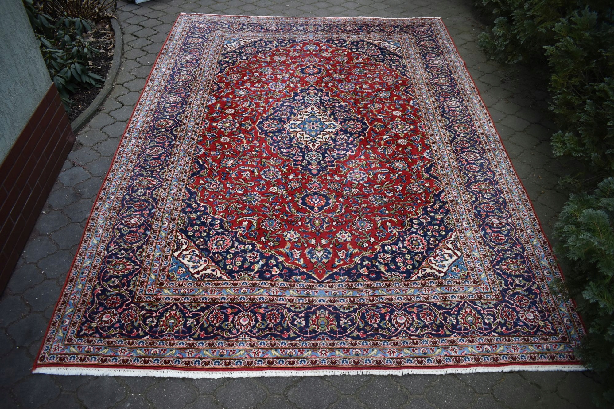 PIĘKNY SALONOWY TKANY PERSKI KESCHAN 2,55/3,55m