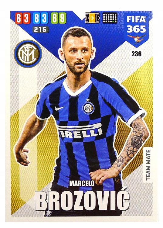 Купить PANINI FIFA365 2020 карта базовая 236 Brozovic на Otpravka - цены и фото - доставка из Польши и стран Европы в Украину.