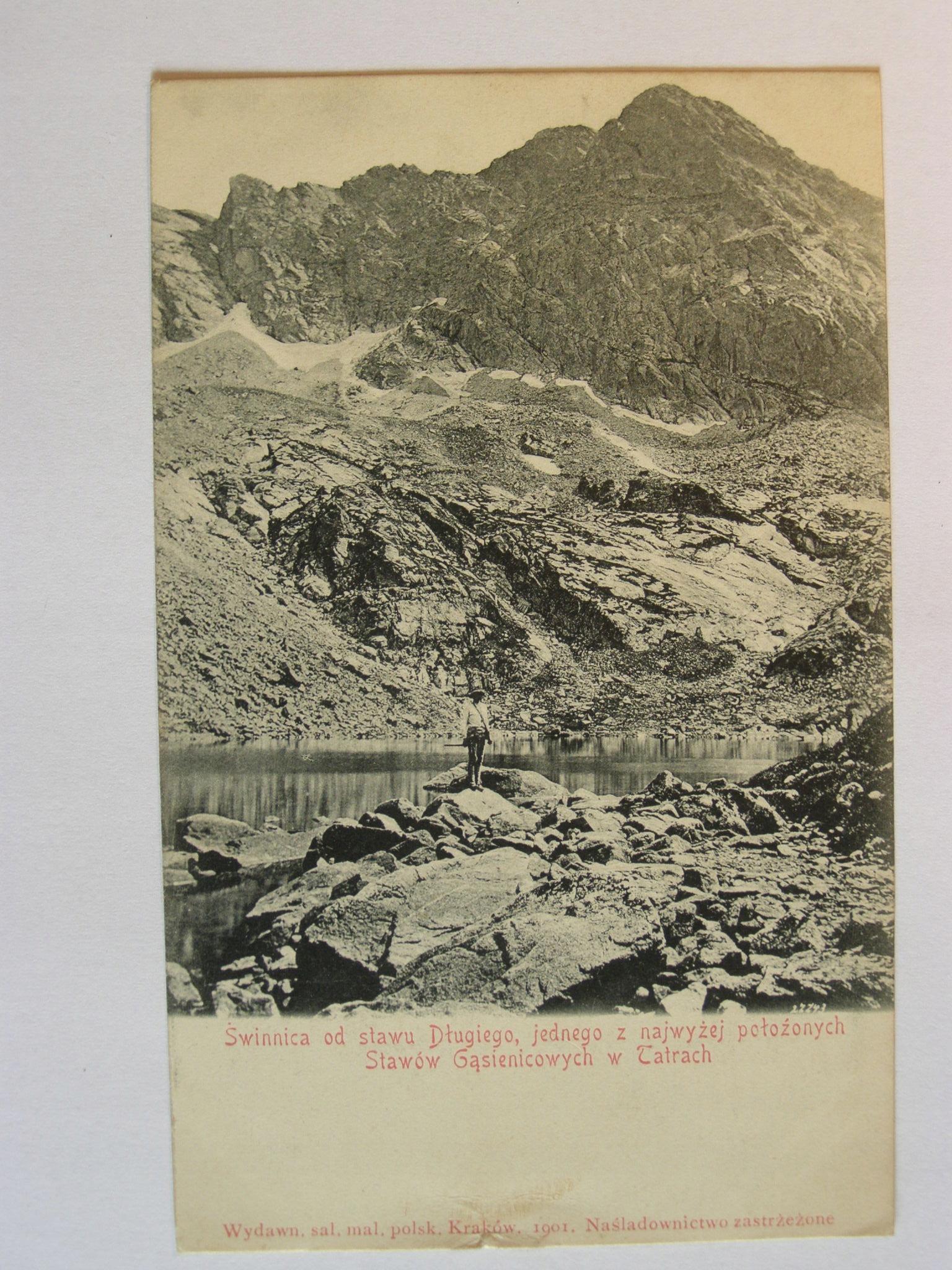 Tatry Zakopane Długi Staw Świnica 1900