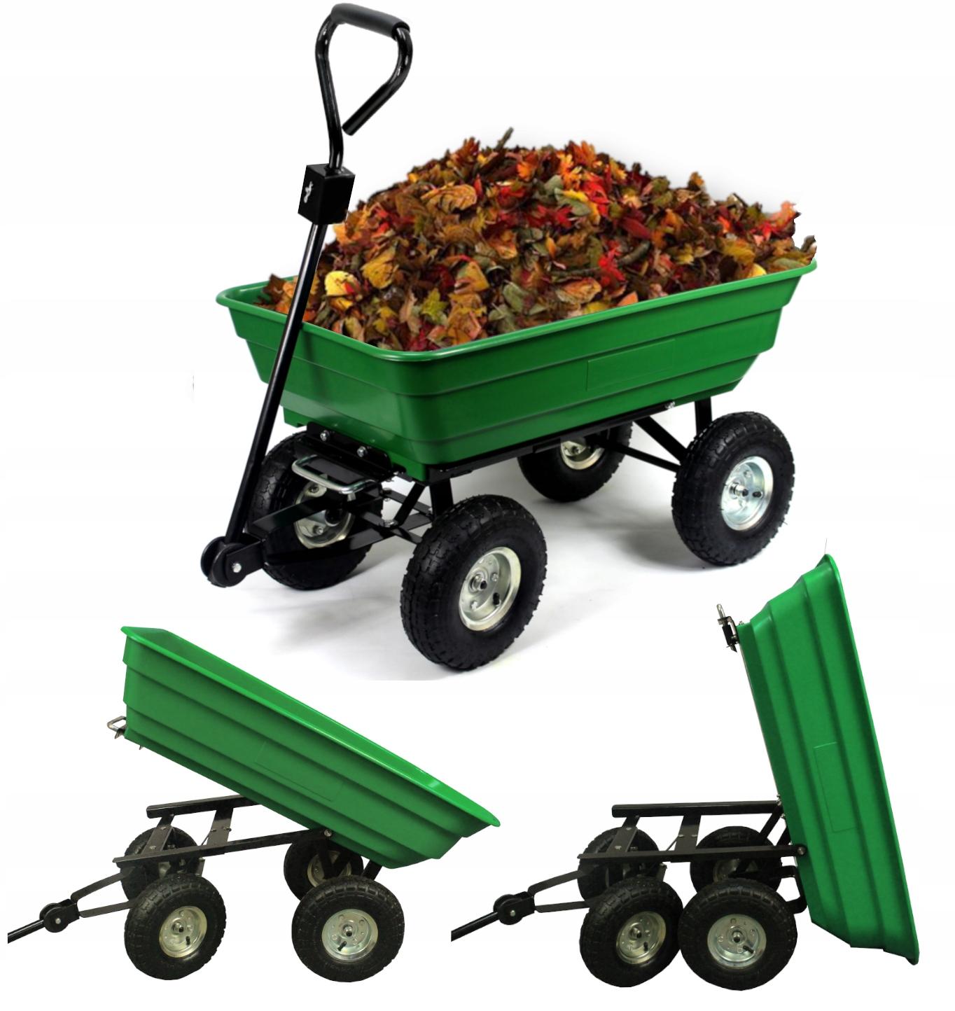 коляска садовый ТРАНСПОРТНЫЙ ПРИЦЕП для 300 кг
