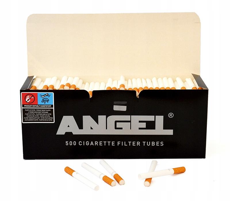 Сигаретные гильзы с тубами стандарт 500