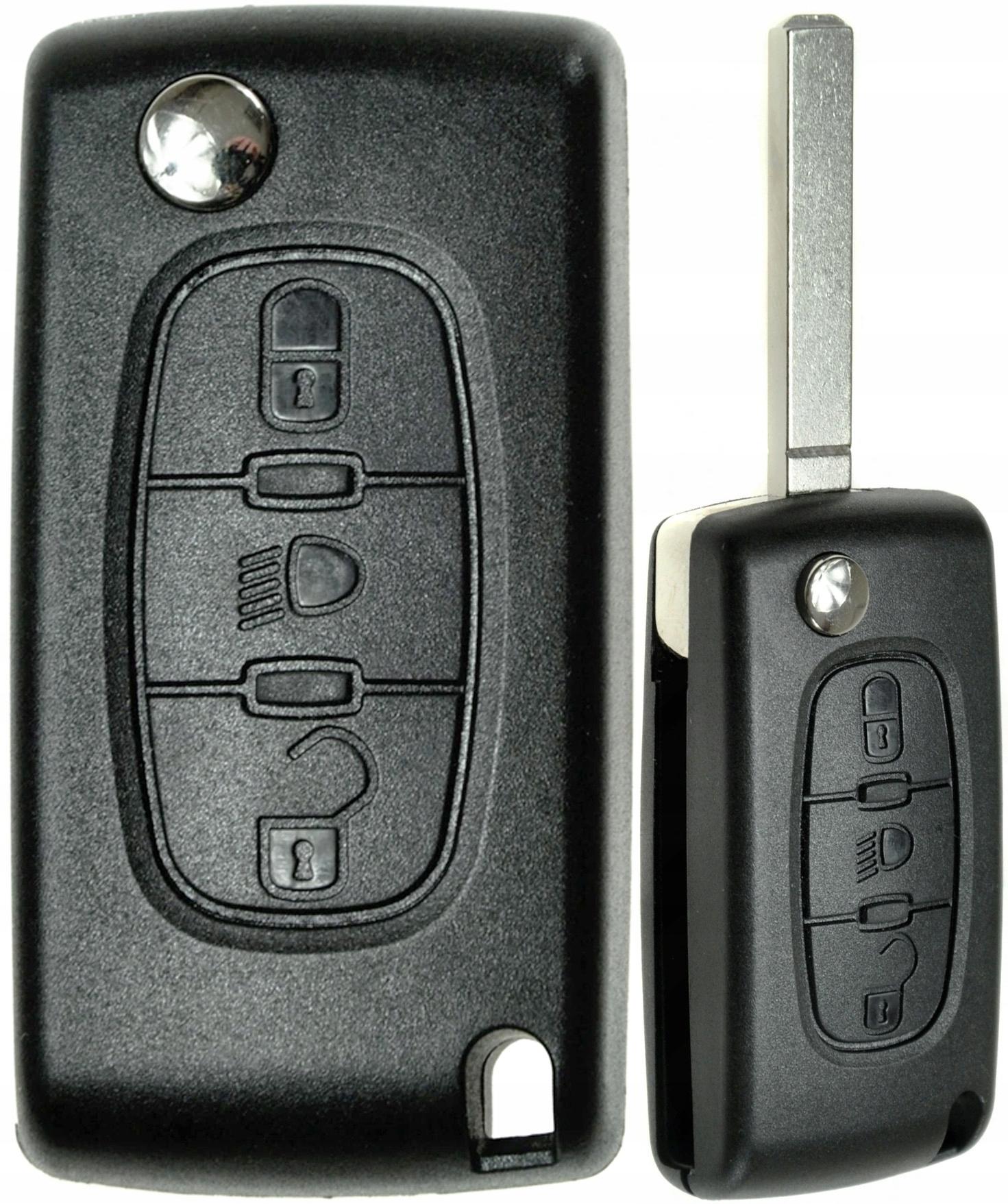 citroen c3 c4 c5 c6 пикассо корпус пульт ключ