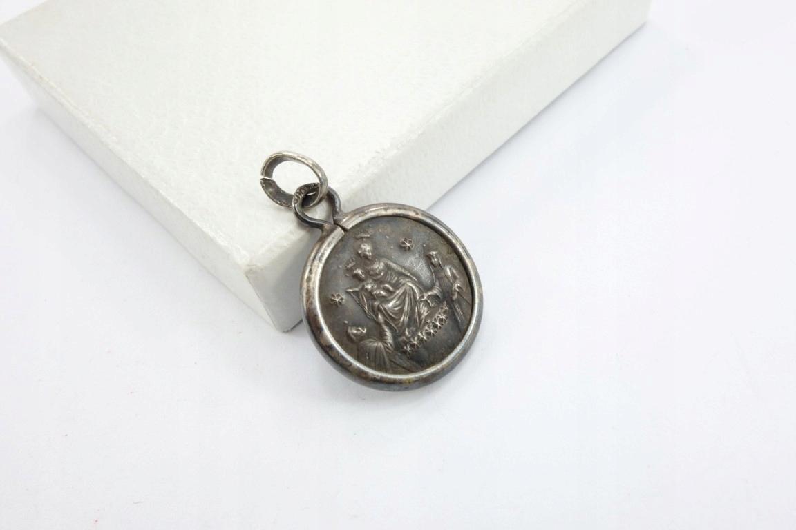 Старая серебряная медаль, Богоматерь Скапулярная