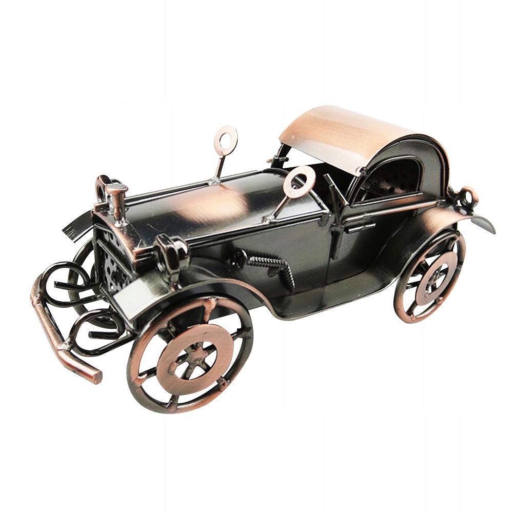 1 ks Retro klasický model automobilu Iron Vinta
