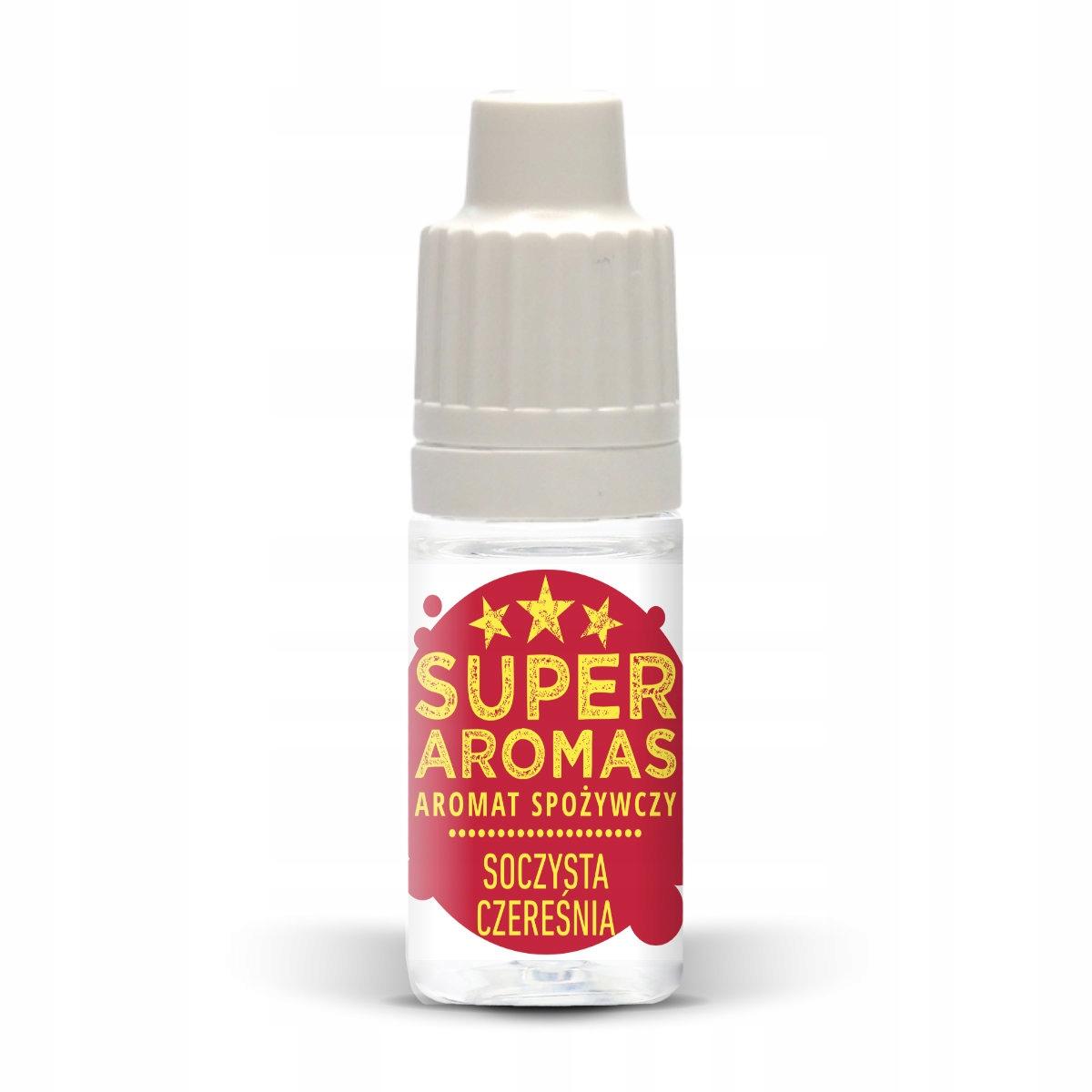 SUPER AROMAS Пищевой аромат вишня 10мл