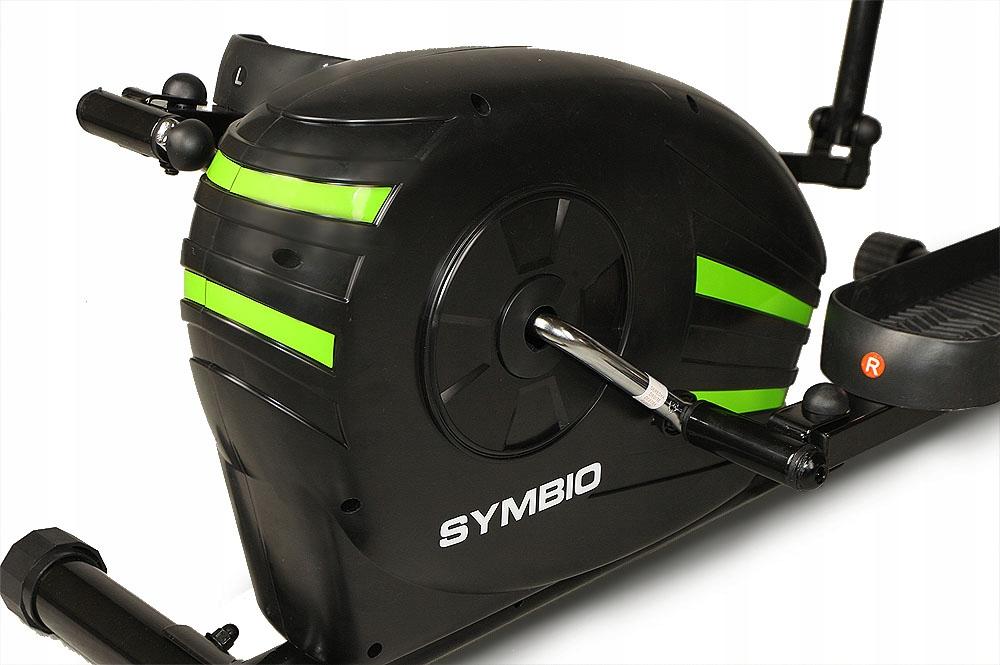 Hertz SYMBIO magnetni eliptični trenažer - impulz, kalorije Število nivojev upora 8