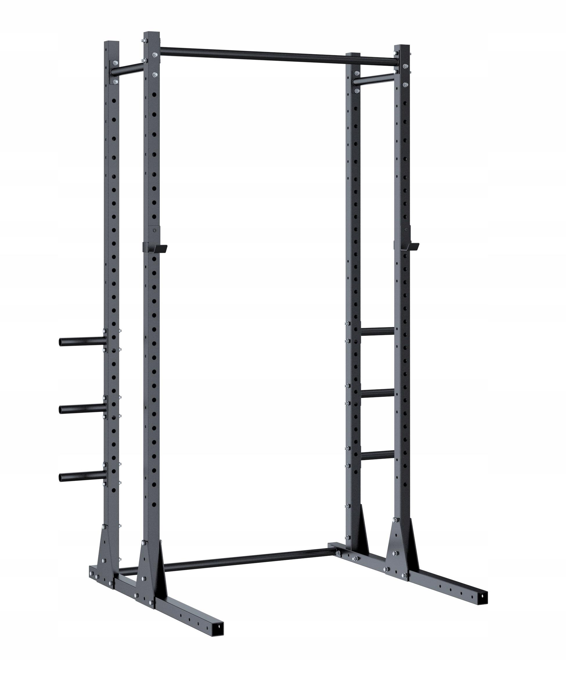 Half rack H4 Rod stojí CrossFit Squat Stojan