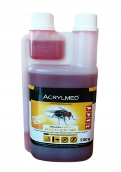 Препарат для уничтожения мух и комаров 0,5 л MUCH-EX