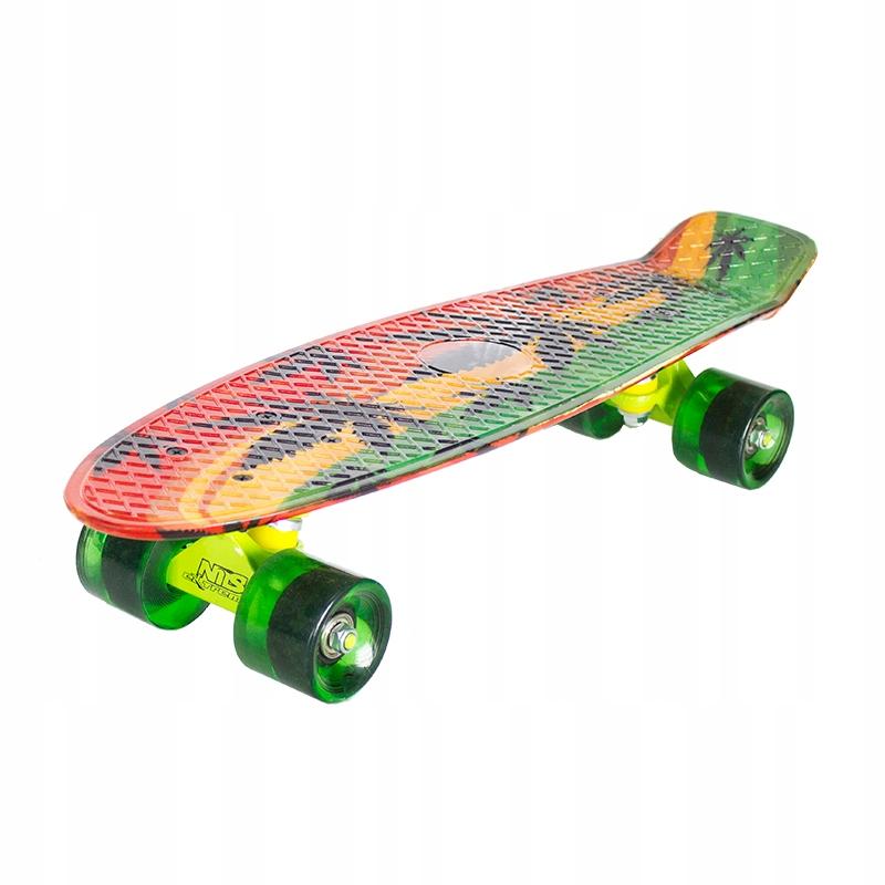 Skateboard Nils ART JOKER Pennyboard ABEC 7 doska