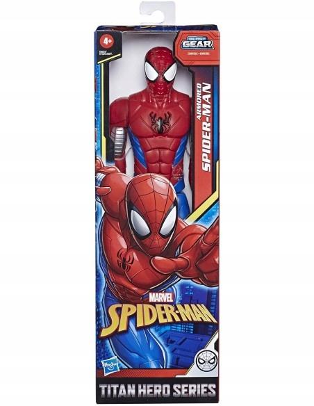HASBRO SPIDERMAN RUCHOMA FIGURKA 30cm E8522/E7329 Marka Hasbro