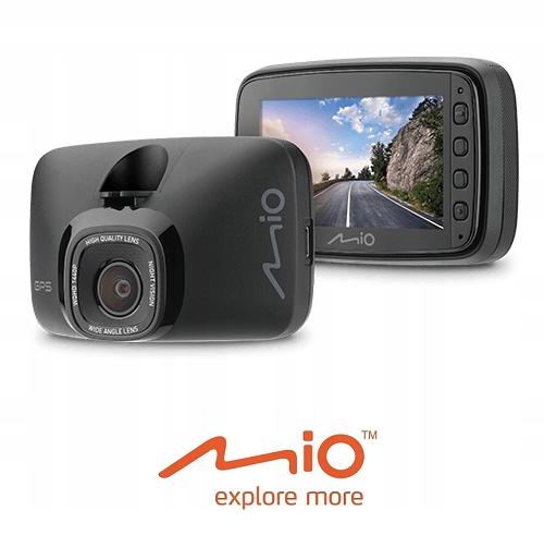 MIO MiVue 812 REJESTRATOR GPS 1440p, 60kl/s, AVG
