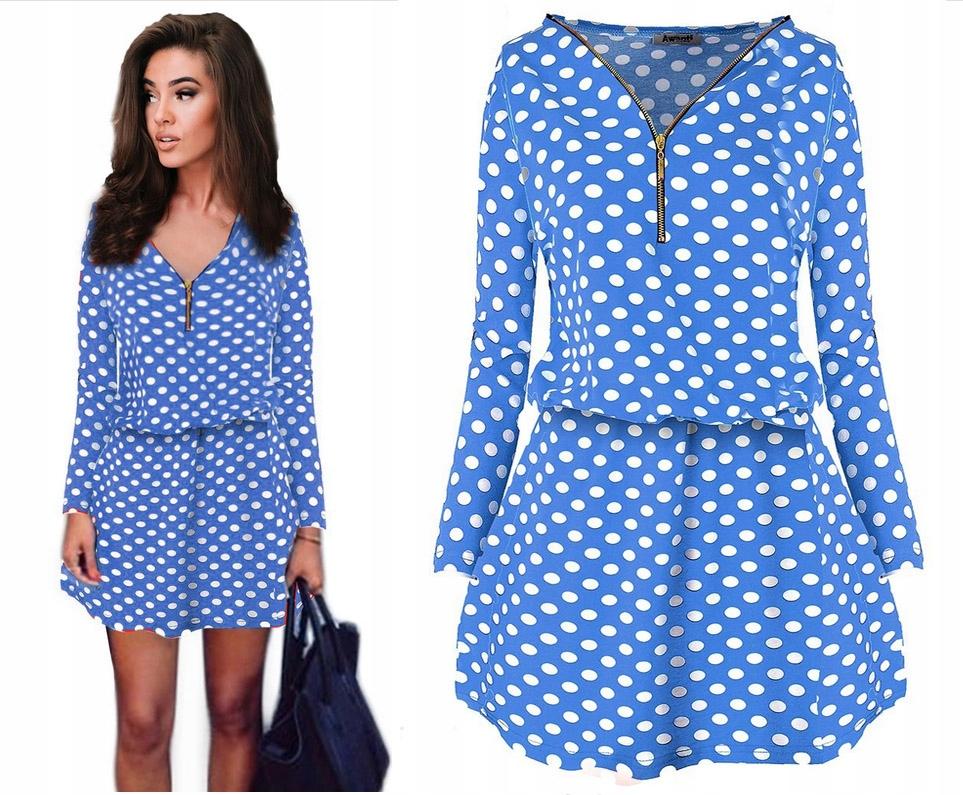 Модное модное платье