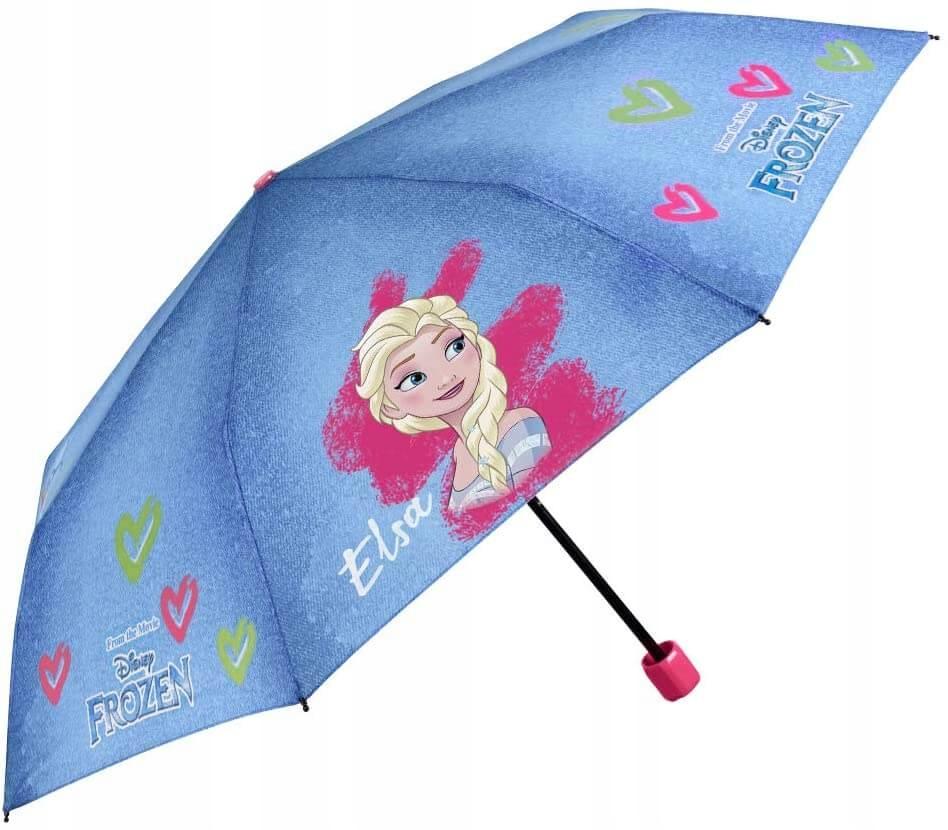 Skladací dáždnik Perletti Frozen dievčenské dievča