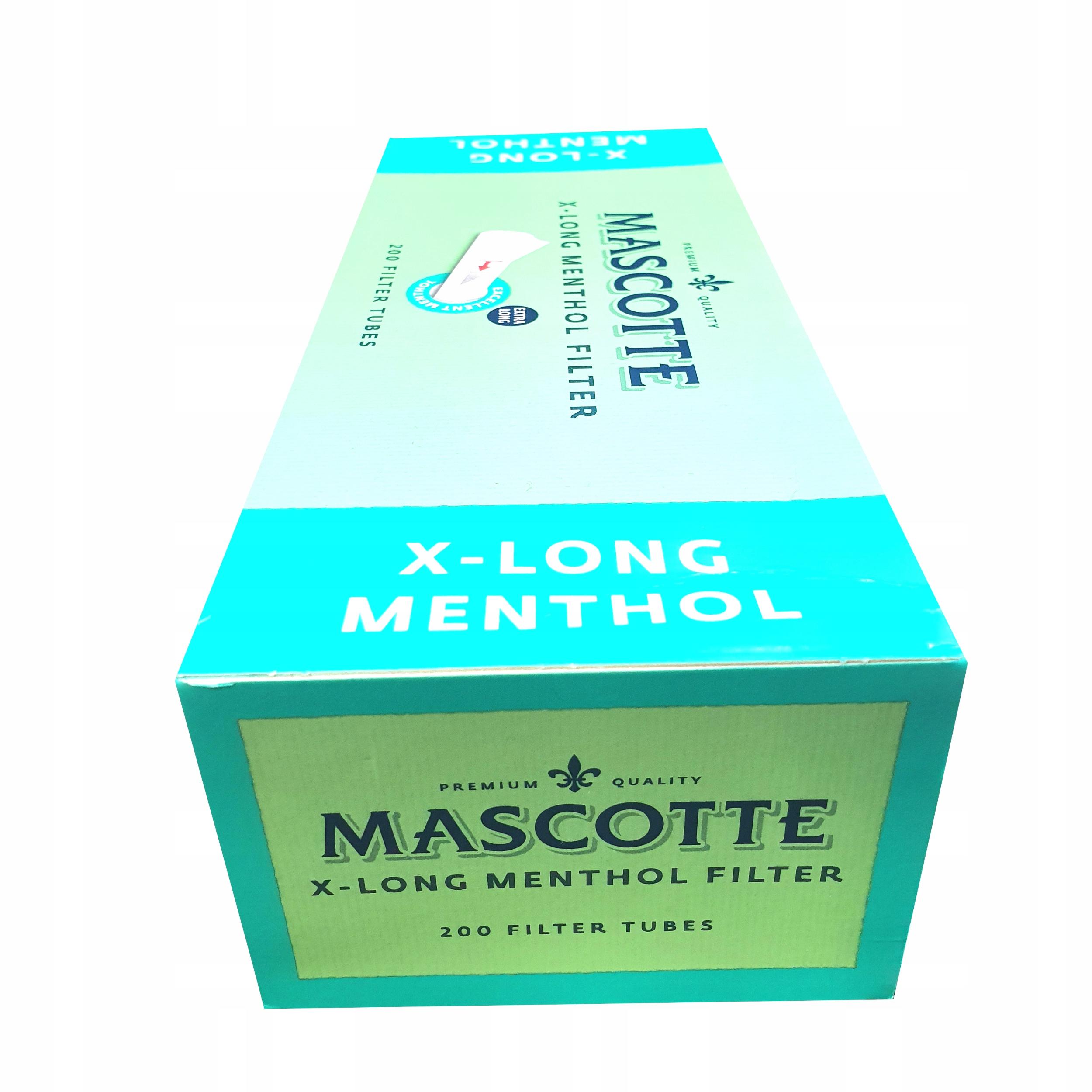 Катушки Mascotte X-Long Ментол 200