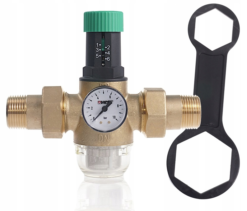 Редуктор давления воды 1 '' ГЕРЦ с фильтром