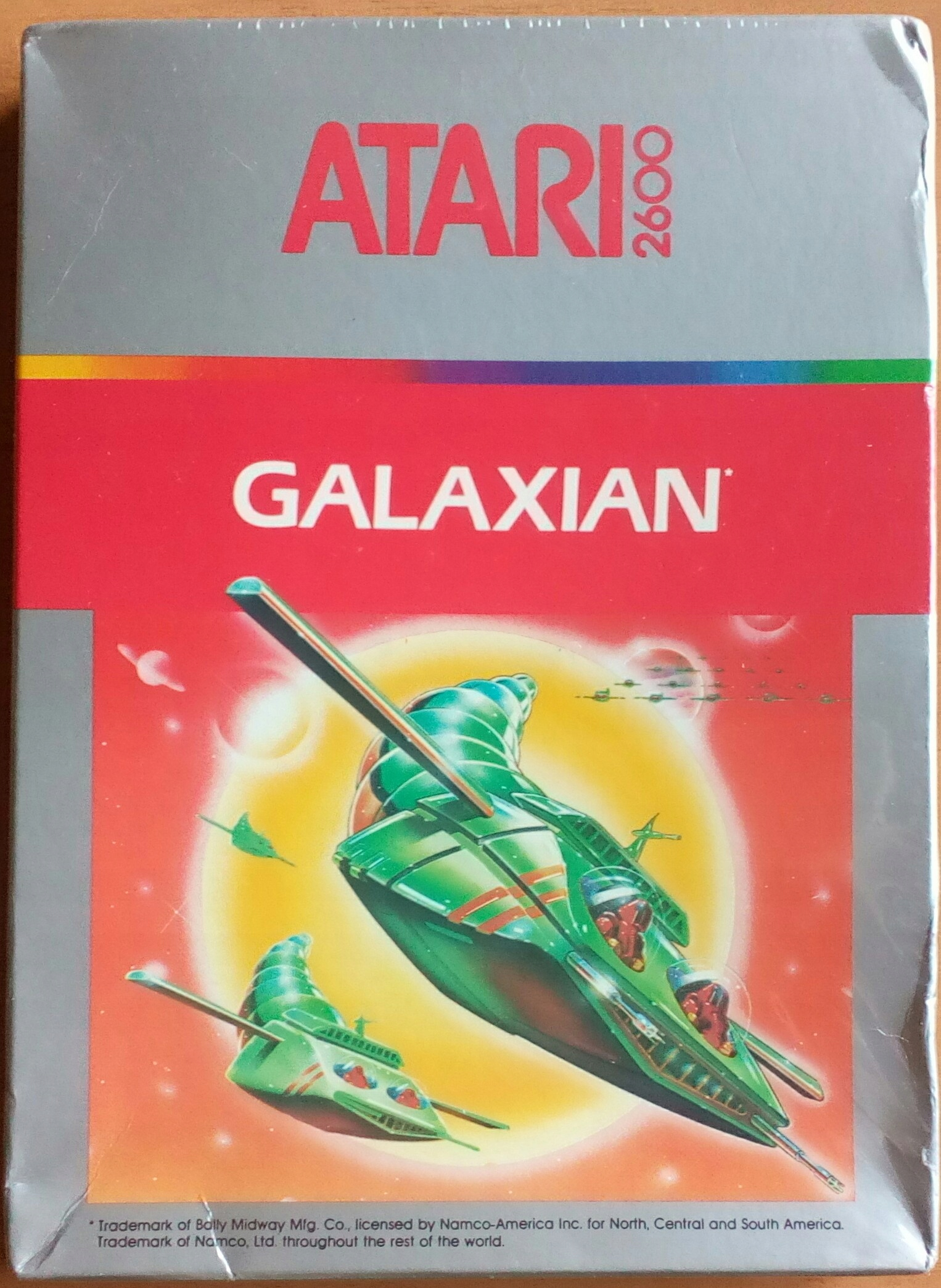 HRA GALAXIAN ATARI 2600 NOVINKA V RETROGAME FILM