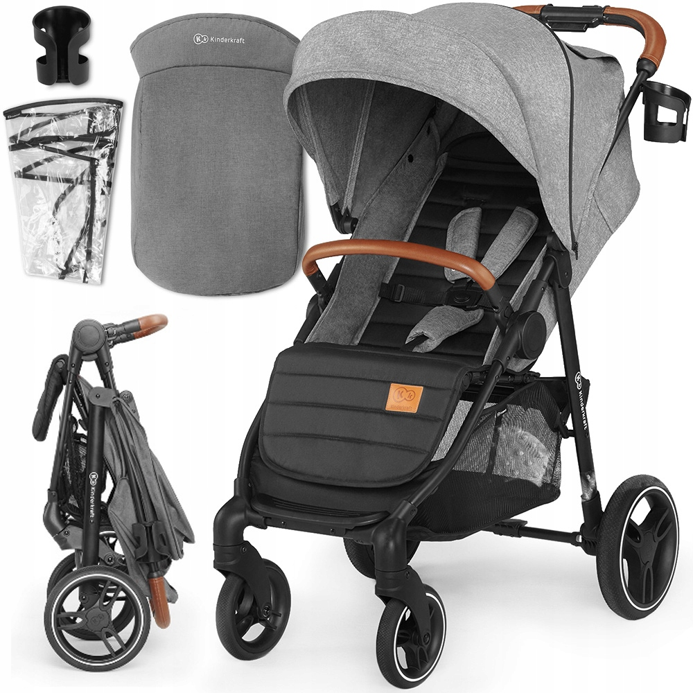 KINDERKRAFT GRANDE LX WALKING TROLLEY WALKER