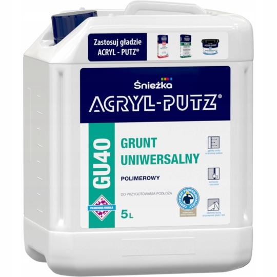 Grunt uniwersalny, polimerowy Śnieżka GU40 5L