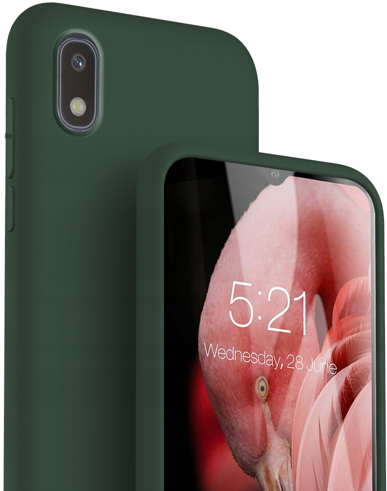 Etui Case Silicone + Szkło do Samsung Galaxy A10