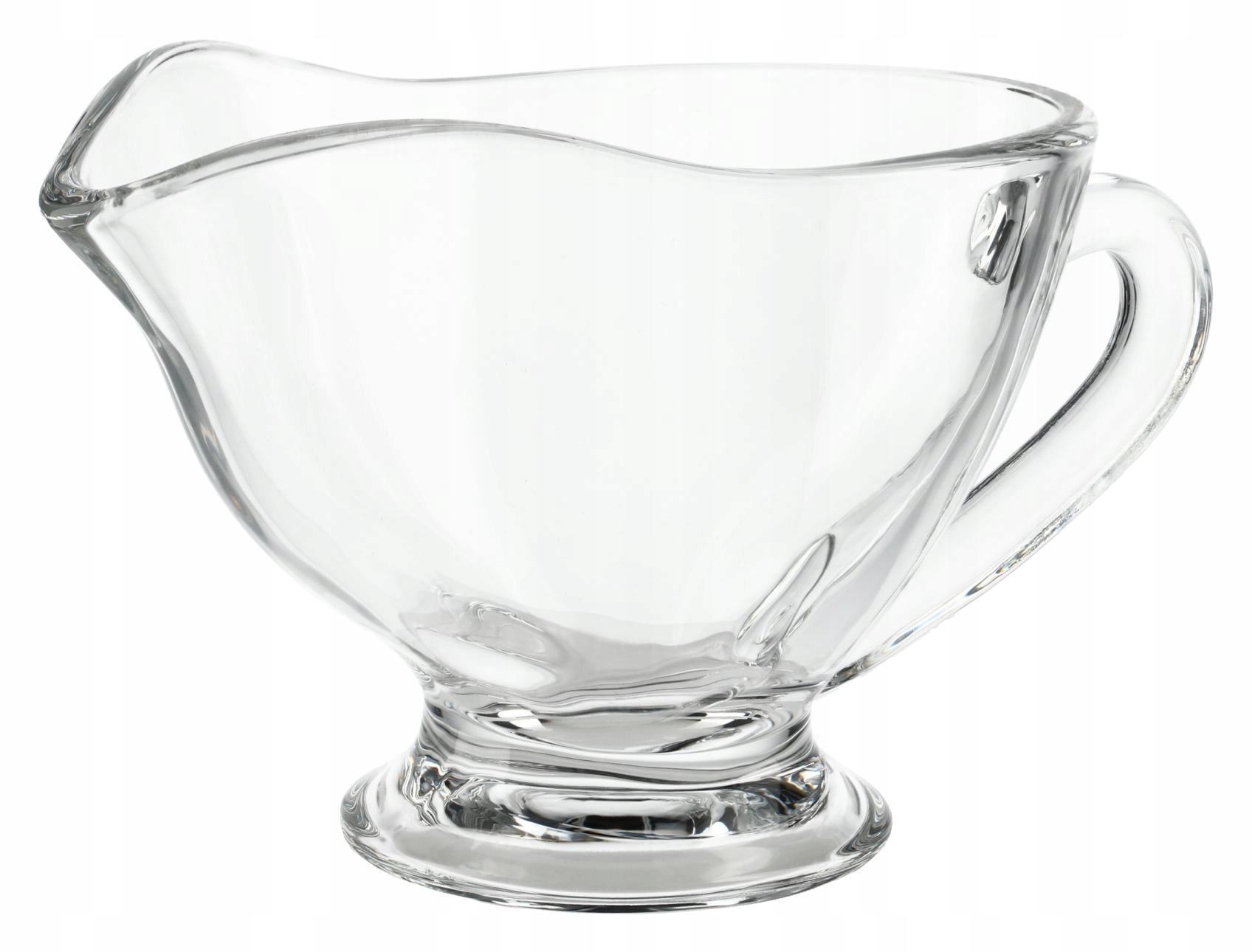Szklana sosjerka dipówka naczynie do sosów dipów