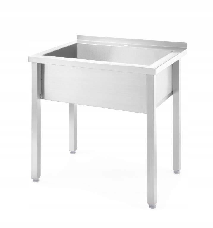 Stół z basenem jednokomorowym 1000x600x(H)850