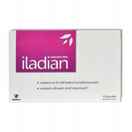 ILADIAN probiotyk układ moczowo- płciowy 10 kaps.