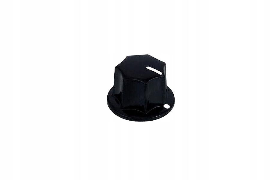Potenciometrový gombík 11B čierny Vitalco