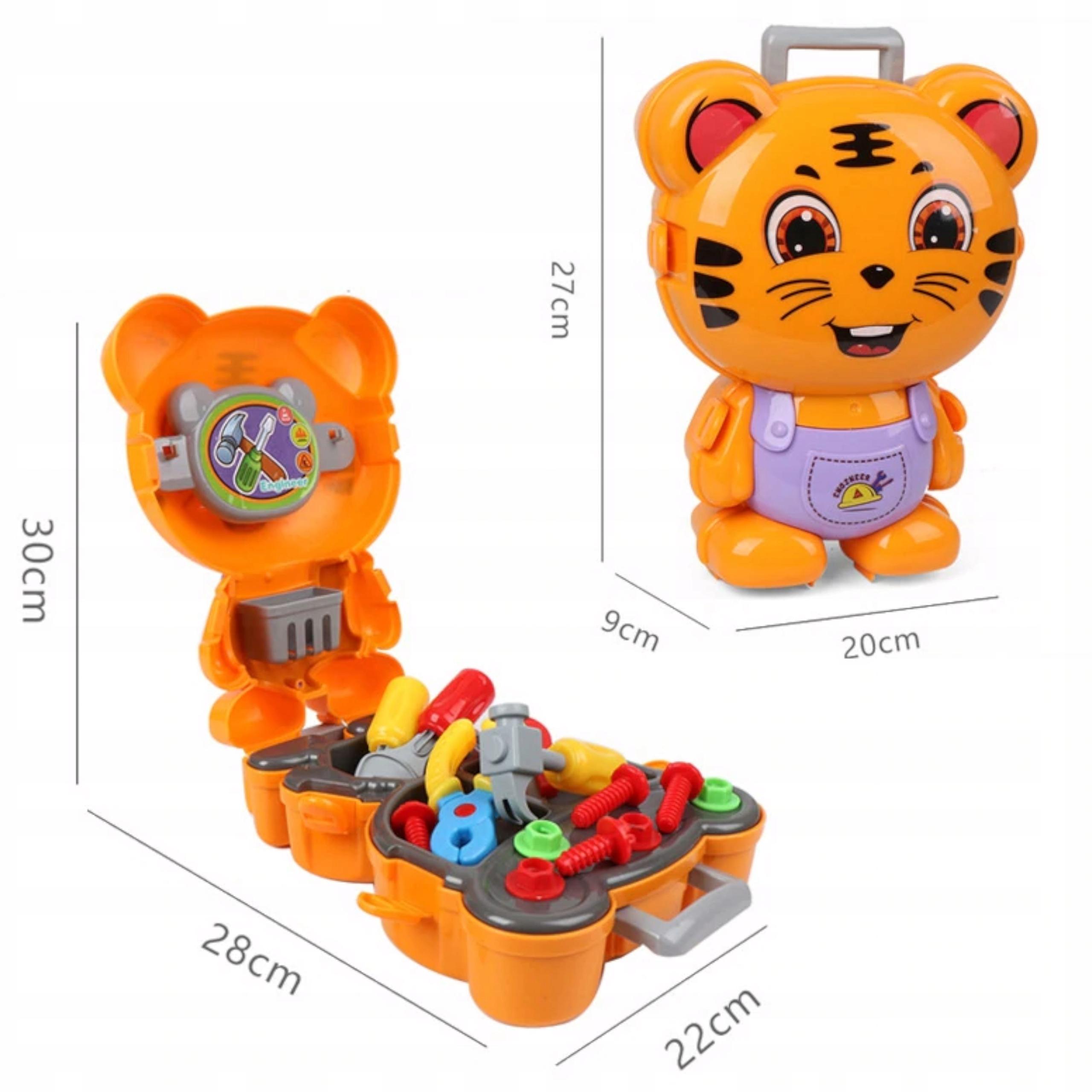 Warsztat zestaw plecak tygrysek narzędzia 23 el 40 Waga (z opakowaniem) 0.42 kg