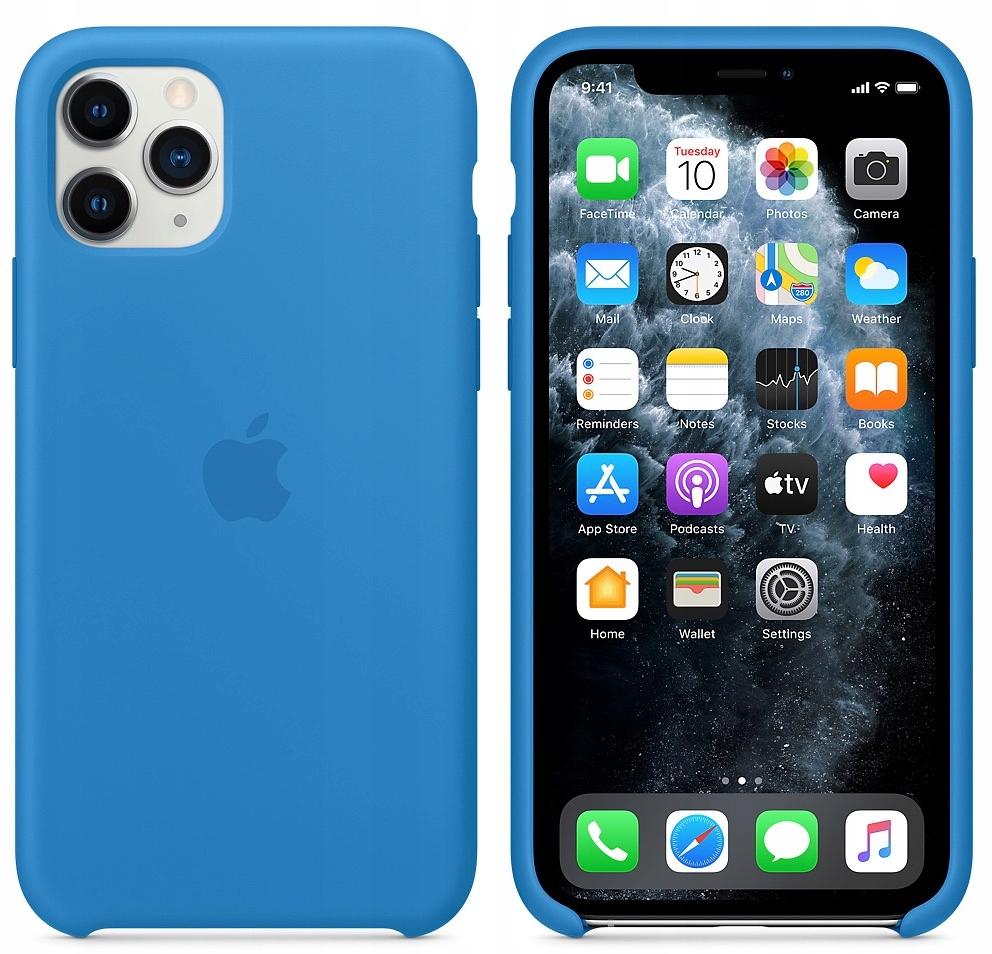Etui silikonowe iPhone 11 Pro Max (Surf blue)