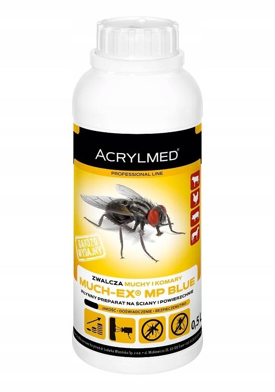 Препарат для уничтожения мух и комаров Muchex 0,5 л