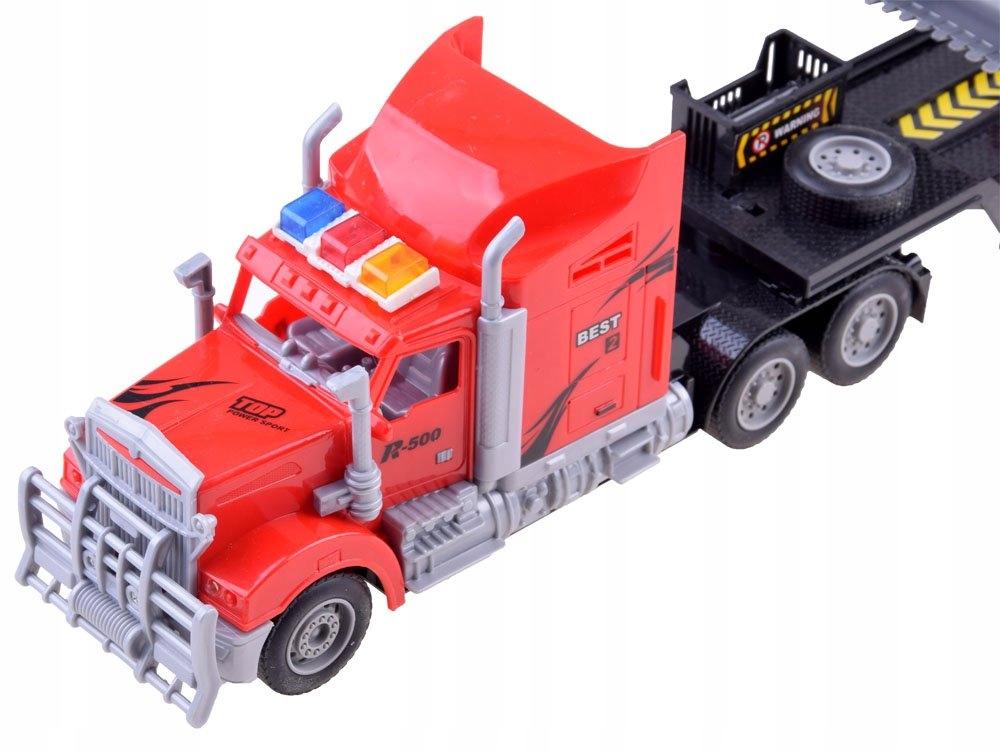 Tir Laweta + Traktor z Przyczepą Zestaw R/C RC0208 Efekty dźwiękowe świetlne