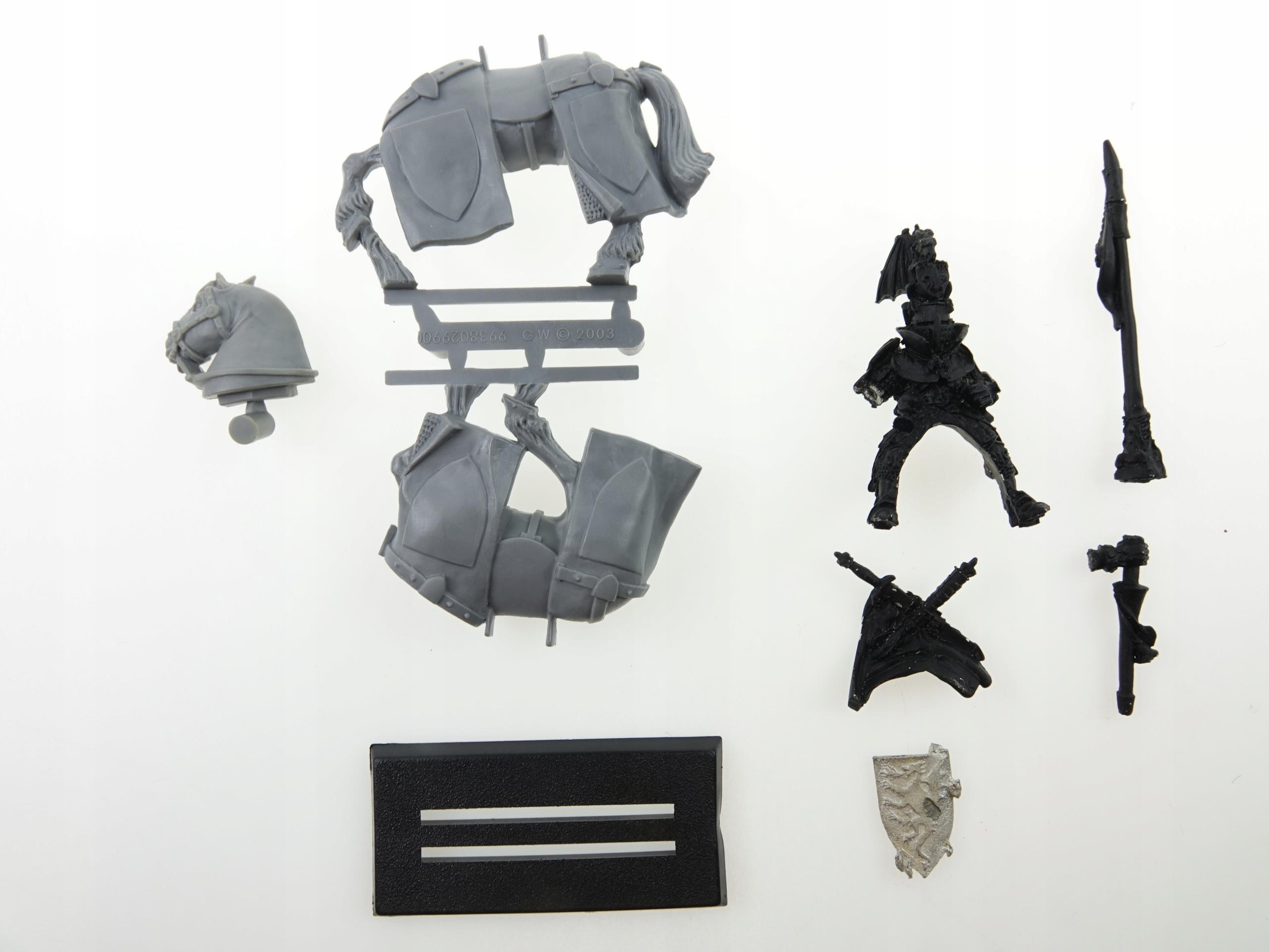 Warhammer Bretononian Duke Figurine Metal