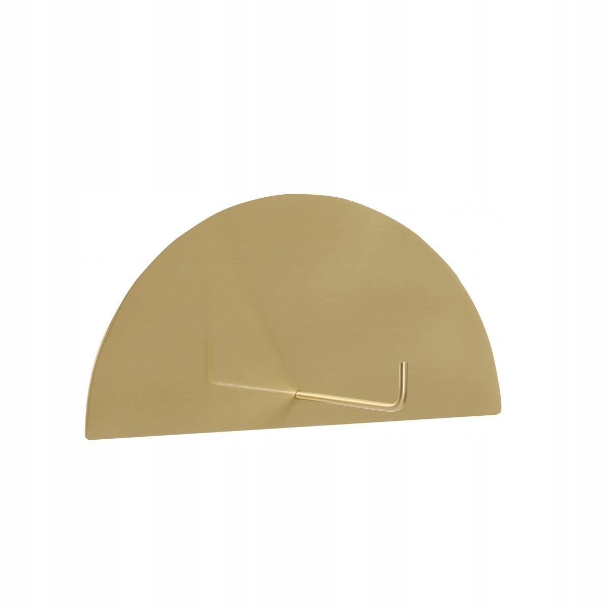 Držiak na toaletný papier Hubsch Záves zlatý